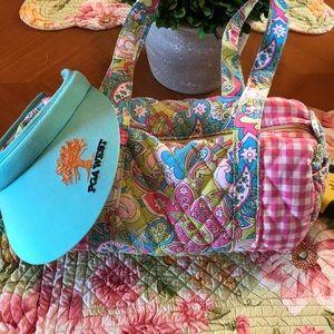 Handbags - Mini duffel purse w/ PGAWest visor